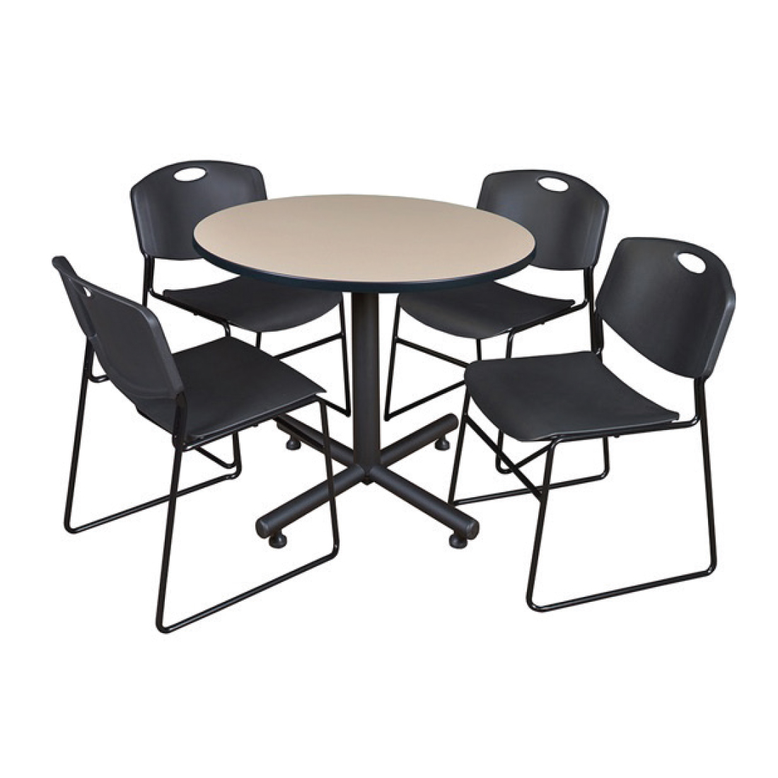 Breakroom, Adjustable Tables + Stands