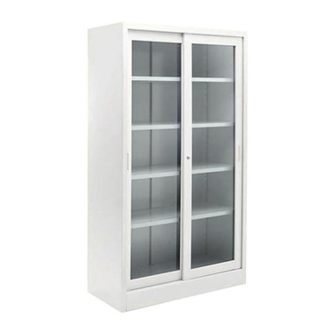 Storage Cabinet With Glass Doors 69 Inch Wood And Glass 2