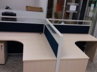 2 - Person cubicle (navy) 2