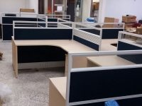 4 - Person cubicle (navy)