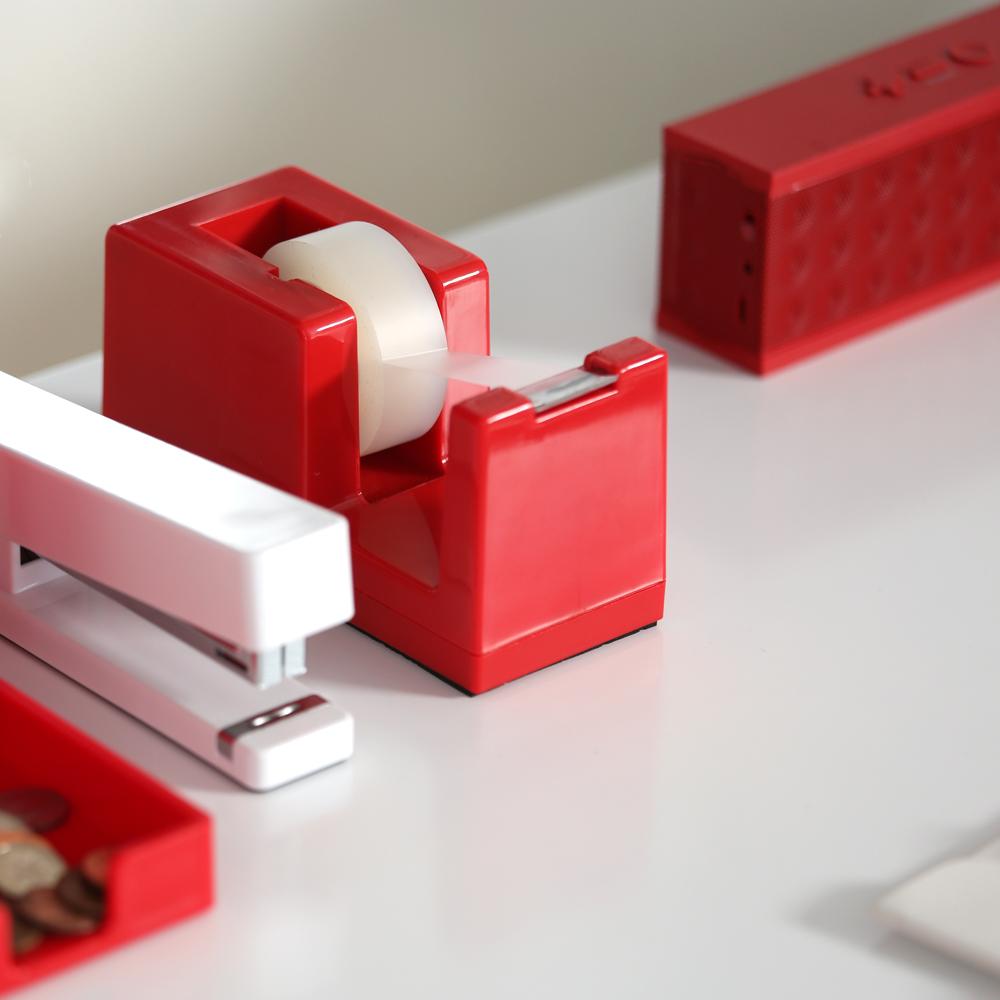 poppin red tape dispenser galt littlepage. Black Bedroom Furniture Sets. Home Design Ideas